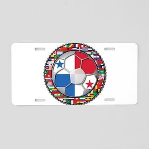 Panama Flag World Cup No Labe Aluminum License Pla