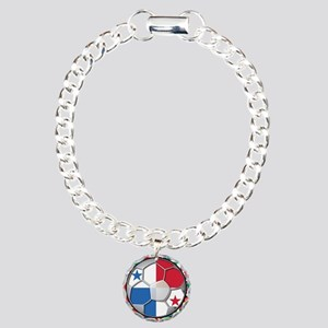 Panama Flag World Cup No Labe Charm Bracelet, One