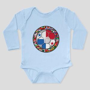 Panama Flag World Cup No Labe Long Sleeve Infant B