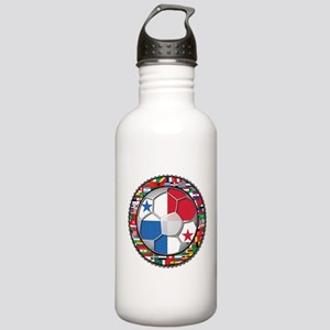 Panama Flag World Cup No Labe Stainless Water Bott