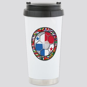 Panama Flag World Cup No Labe Stainless Steel Trav
