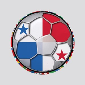 """Panama Flag World Cup No Labe 3.5"""" Button"""
