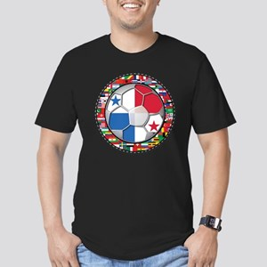 Panama Flag World Cup No Labe Men's Fitted T-Shirt
