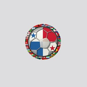 Panama Flag World Cup No Labe Mini Button