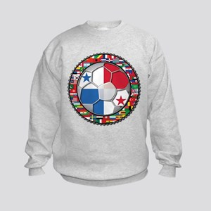 Panama Flag World Cup No Labe Kids Sweatshirt