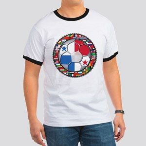 Panama Flag World Cup No Labe Ringer T