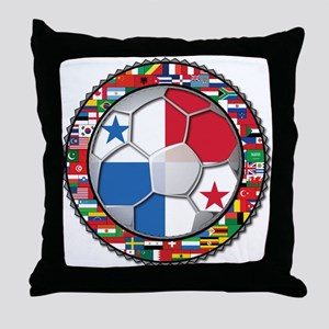 Panama Flag World Cup No Labe Throw Pillow