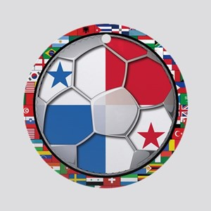 Panama Flag World Cup No Labe Ornament (Round)
