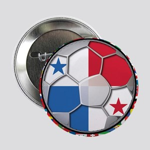 "Panama Flag World Cup No Labe 2.25"" Button"