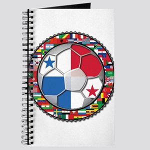 Panama Flag World Cup No Labe Journal