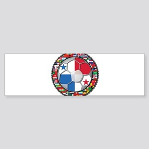 Panama Flag World Cup No Labe Sticker (Bumper)