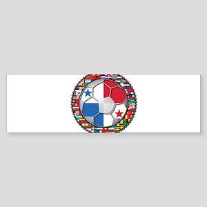 Panama Flag World Cup No Labe Sticker (Bumper)