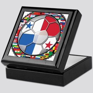 Panama Flag World Cup No Labe Keepsake Box