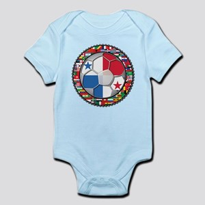 Panama Flag World Cup No Labe Infant Bodysuit