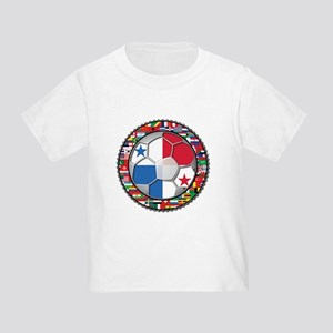 Panama Flag World Cup No Labe Toddler T-Shirt