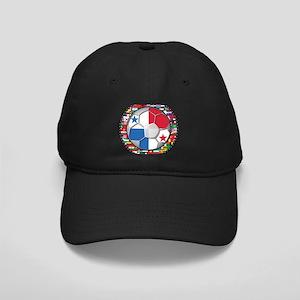 Panama Flag World Cup No Labe Black Cap