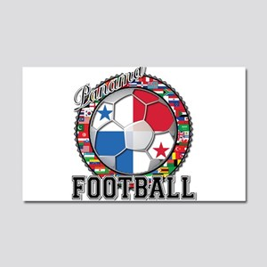 Panama Flag World Cup Footbal Car Magnet 20 x 12
