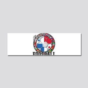 Panama Flag World Cup Footbal Car Magnet 10 x 3