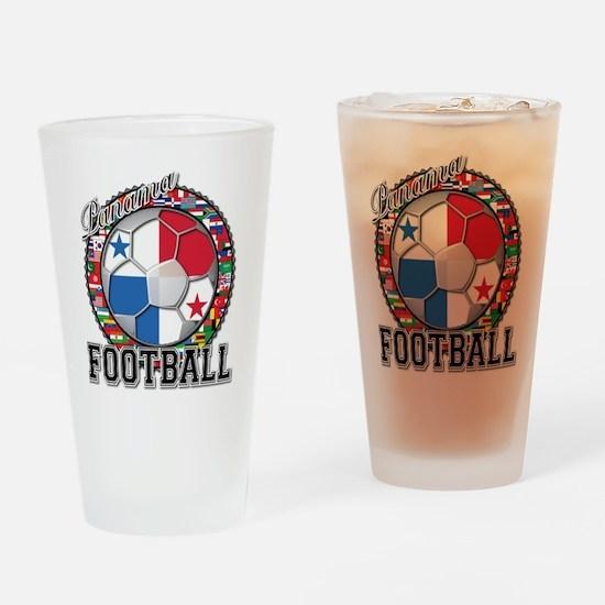 Panama Flag World Cup Footbal Drinking Glass