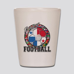 Panama Flag World Cup Footbal Shot Glass