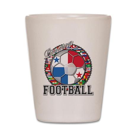 Panama Flag World Cup Footbal Shot Glass
