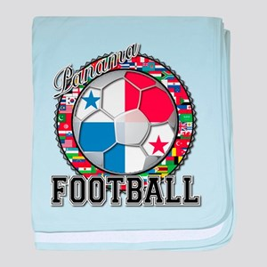 Panama Flag World Cup Footbal baby blanket