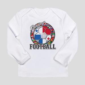 Panama Flag World Cup Footbal Long Sleeve Infant T