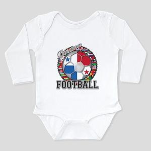 Panama Flag World Cup Footbal Long Sleeve Infant B