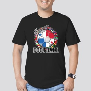 Panama Flag World Cup Footbal Men's Fitted T-Shirt