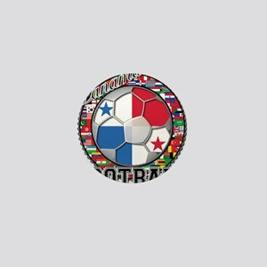 Panama Flag World Cup Footbal Mini Button