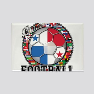 Panama Flag World Cup Footbal Rectangle Magnet