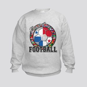 Panama Flag World Cup Footbal Kids Sweatshirt
