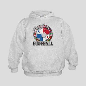 Panama Flag World Cup Footbal Kids Hoodie