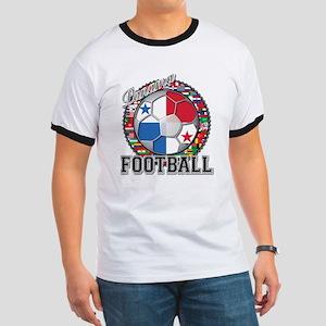 Panama Flag World Cup Footbal Ringer T