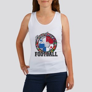Panama Flag World Cup Footbal Women's Tank Top