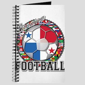 Panama Flag World Cup Footbal Journal