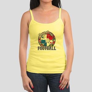 Panama Flag World Cup Footbal Jr. Spaghetti Tank