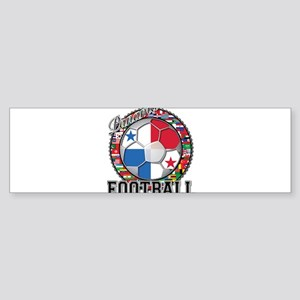 Panama Flag World Cup Footbal Sticker (Bumper)