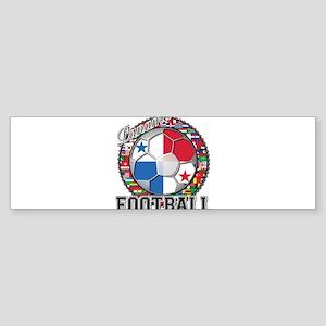 Panama Flag World Cup Footbal Sticker (Bumper)