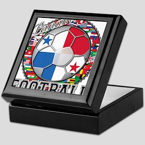 Panama Flag World Cup Footbal Keepsake Box