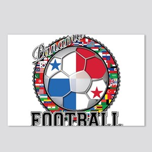 Panama Flag World Cup Footbal Postcards (Package o