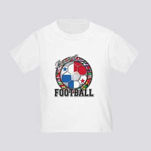 Panama Flag World Cup Footbal Toddler T-Shirt
