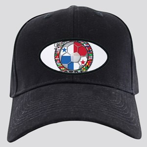 Panama Flag World Cup Footbal Black Cap