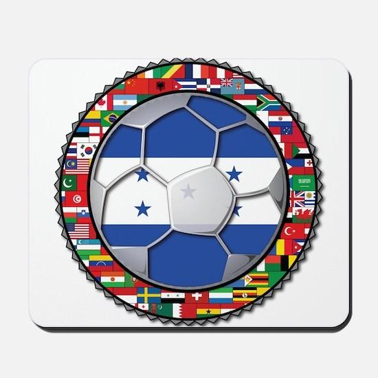 Honduras Flag World Cup Footb Mousepad