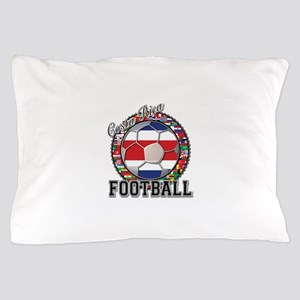 Costa Rica Flag World Cup Foo Pillow Case