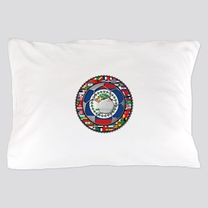Belize Flag World Cup No Labe Pillow Case