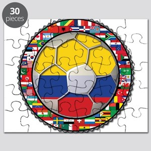 Colombia Flag World Cup No La Puzzle
