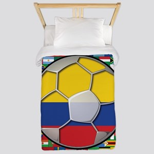 Colombia Flag World Cup No La Twin Duvet