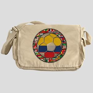 Colombia Flag World Cup No La Messenger Bag
