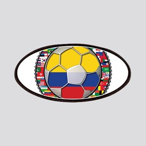Colombia Flag World Cup No La Patches